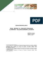 La Educación Alimentaria y Ambiental