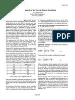 Fundamentals of the Discrete Fourier Transform