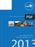 2013 COMESA International Trade Statistics Bulletin