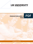 Productions & Operations Management Hard Copy Sikkim