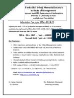 Admission 2014 15