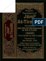 Jami at-Tirmidhi Vol. 3 - 1205-1896