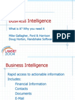 2009-09 Business Intelligence