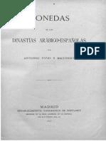 Monedas de las dinastías arábigo-españolas / por Antonio Vives y Escudero