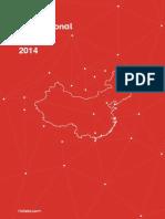 Informe turismo chino 2014