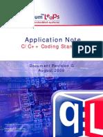 An QL Coding Standard