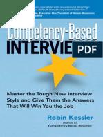 Robin Kessler - Competency-Based Interviews (2006)