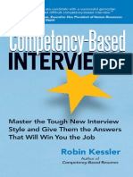 Robin Kessler - Competency-Based Interviews (2006)