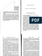 Foucault - 1992 - Deux Essais Sur Le Sujet Et Le Pouvoir