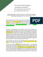 Martinho Lutero - Prefácio a Carta aos Romanos.doc