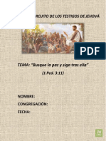 Asamblea de Circuito Busque La Paz y Siga Tras Ella - 2014 - 2015