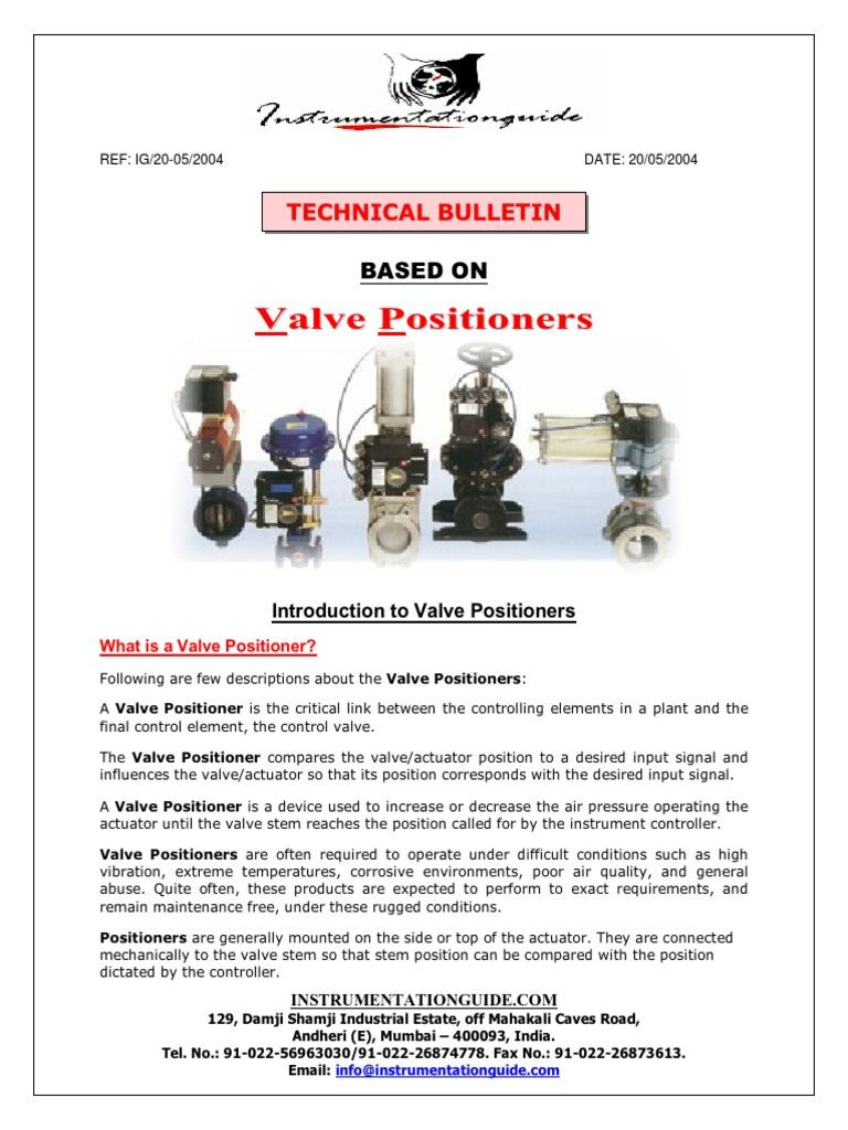 Valve Positioner | Hysteresis | Valve
