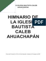 39 07 HIMNARIO BAUTISTA de BOLIVIA Www.gftaognosticaespiritual.org