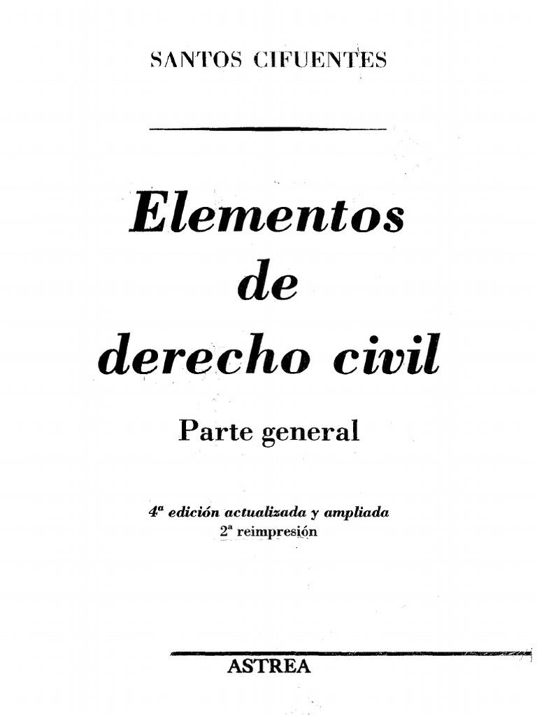 Elementos de Derecho Civil - Santos Cifuentes.pdf