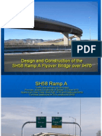 Design and Construction of the SH58 Flyover Bridge Over IH70