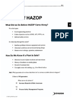 Basics of HAZOP