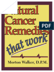 Natural Cancer Remedies That Work