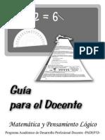 Guia Matematica 2009