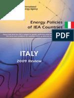 Italy Energy 2009