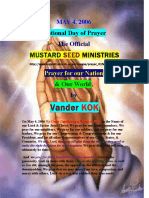 NATIONAL DAY of PRAYER, 2006, by vanderKOK