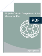 Manual Hoja de Calculo Geografica v1.0