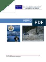 110919276 Manual de Perforacion y Voladura Tema 1 Perforacion de Barrenos Para Voladuras