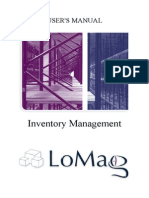 LoMag Inventory Management Software - Users Manual