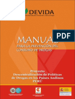 Manual de Prevencion Del Consumo de Drogas