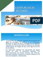 Evacuación de Aguas Pluviales