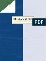Maxsurf Brochure