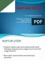 Ruptur Uteri Dan Servik Fk 2012