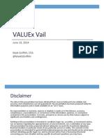 VALUEx Vail 2014 - Visa Presentation