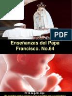 Enseñanzas del Papa Francisco - Nº 64.pps