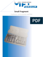 Small Fragment Implants and Instruments