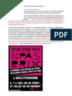 II Négation Des Violences Dans La Prostitution