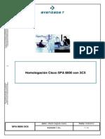 Homologacion SPA 8800 Con 3CX (SPANISH)