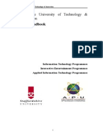 APU Project Handbook