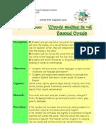 activity 10 cognate lesson plan