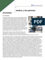 Página_12 __ Contratapa __ La Guerra, Los Medios y Las Palomas Atontadas