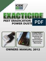 Exacticide Manual
