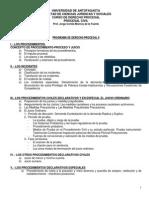 Derecho Procesal II Cortes Monroy
