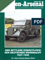 Waffen Arsenal - Band 157 - Der mittlere Einheits-PKW der Wehrmacht