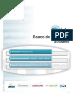 Banco de Practicas Sociales. Sistematización Del Programa Favela -Barrio