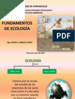 Fundamentos de Ecología