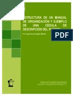Www.conductitlan.net Psicologia Organizacional Estructura Manual Organizacion Cedula Descripcion Puestos
