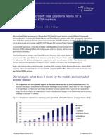 Analysys Mason Microsoft Nokia Deal Sept2013 RDMM0