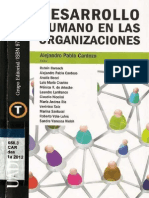 Desarrollo Humano en Las Organizaciones
