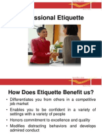 11.3- Professional Etiquette