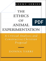 The Ethics of Animal