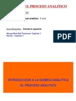 Tema 1.- El Proceso Analítico
